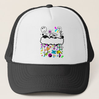 Trippy de-do-da trucker hat