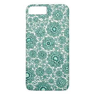 trippy floral aqua (c) iPhone 7 plus case