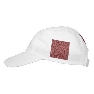 trippy floral red (c) hat