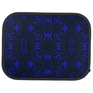 Trippy Fractal Keliedescope art Floor Mat