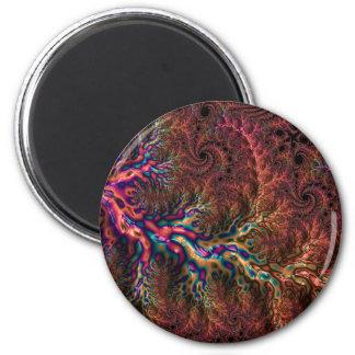 Trippy Fractal Magnet
