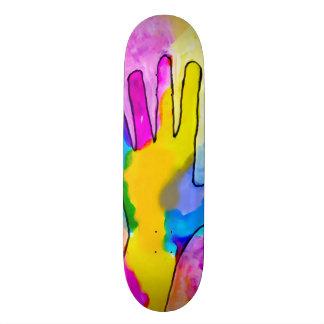 Trippy Graffiti Tracker Custom Pro Park Board Skateboard Deck
