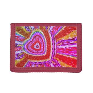Trippy Hearts Wallet
