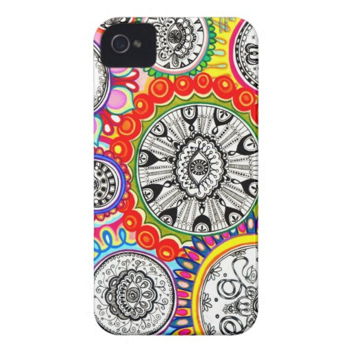 Trippy Hippie iPhone Case iPhone 4 Cover