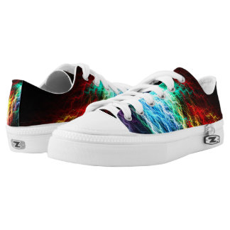 Trippy Lightning Fast Pro Zipz Low Top Shoes Printed Shoes