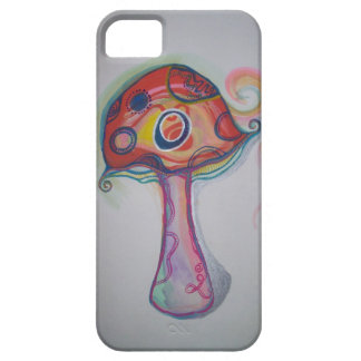 Trippy Mushroom Psychedelic iPhone Case Hippie