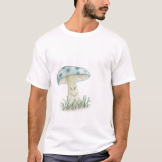 Trippy Mushroom with Smiley Face T-Shirt