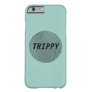 Trippy Optical Illusion Minimal w/ Pink Barely There iPhone 6 Case