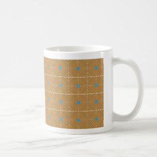 Trippy Pixel Diamonds Pattern Mug