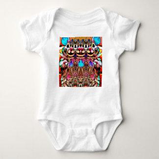 Trippy Rave Rat Baby Bodysuit