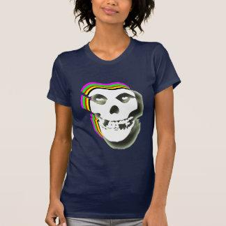 Trippy Skull. T-Shirt