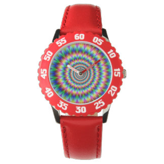trippy stoner optical illusion watch