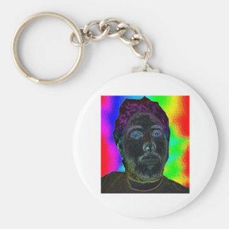 trippyScott Basic Round Button Key Ring