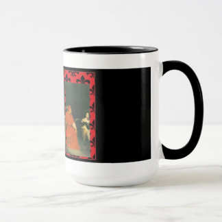 Triptych Joan of Arc mug