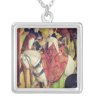 Triptych of the Crucifixion Silver Plated Necklace