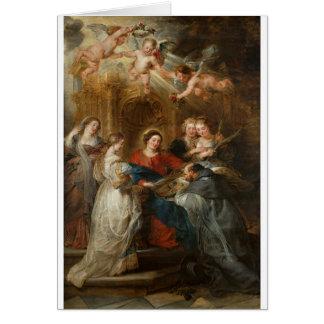 Triptych St. Idelfonso - Peter Paul Rubens Card