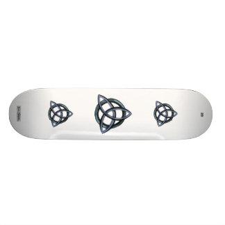 Triquetra (Blue) Custom Skateboard
