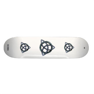 Triquetra (Blue) Skate Boards