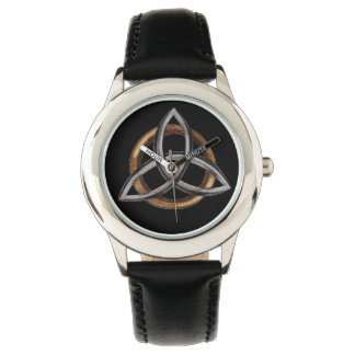 Triquetra (Brown/Silver) Wristwatches