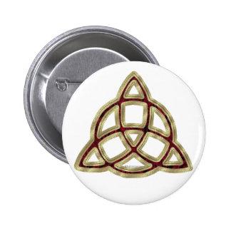 Triquetra Button