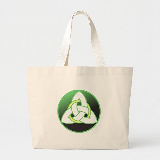 Triquetra Celtic Trinity Knot Tote Bag
