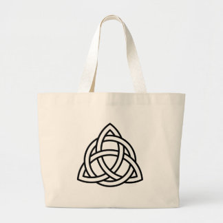 Triquetra Large Tote Bag