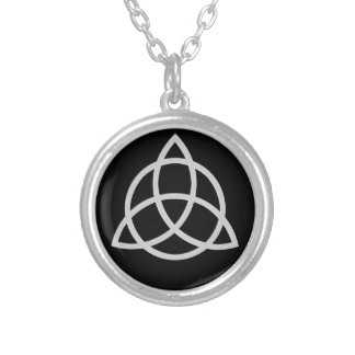 Triquetra Personalized Necklace