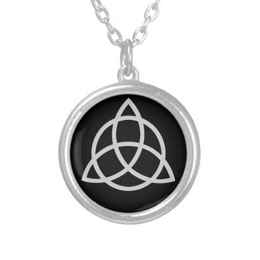 Triquetra Personalized Necklace