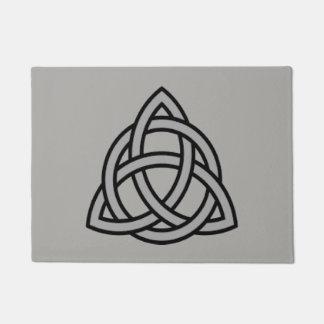 Triquetra Symbol Door Mat