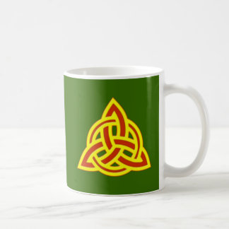 triquetta Celtic knot celtic knot Coffee Mugs