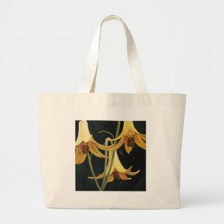 Trish Biddle Canada Lilly Jumbo Tote Bag