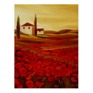 Trish Biddle Tuscany Series Postcard