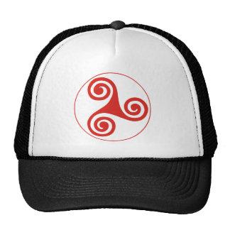 triskele mesh hats