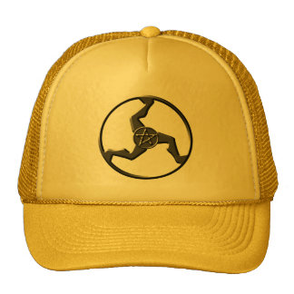 triskelion-gold-hat cap