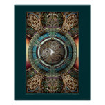 "Triskelion Mandala poster (16x20"")"