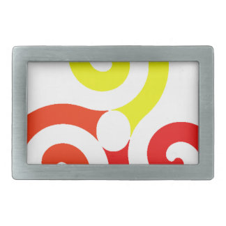 Triskélion Rectangular Belt Buckles