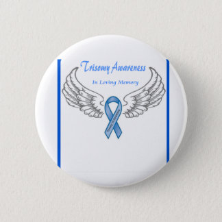 Trisomy 18 Customizable In Loving Memory 6 Cm Round Badge