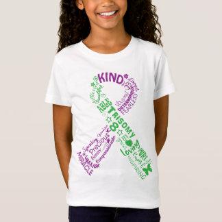 Trisomy 8 Awareness Ribbon T-Shirt
