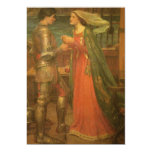 Tristan and Isolde by Waterhouse, Vintage Fine Art Invite