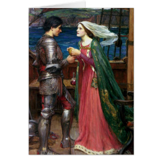 Tristan and Isolde with the Potion Card