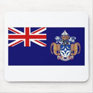 Tristan da Cunha Flag Mouse Pad