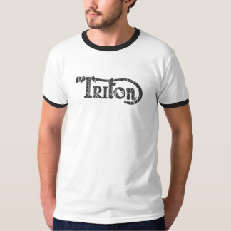 TRITON BLACK LOGO. T-Shirt