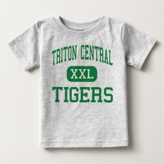 Triton Central - Tigers - High - Fairland Indiana Baby T-Shirt