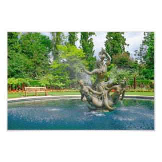 Triton Fountain Regent's Park, London Print Photograph