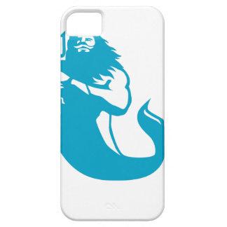 Triton Wielding Trident Retro iPhone 5 Cover
