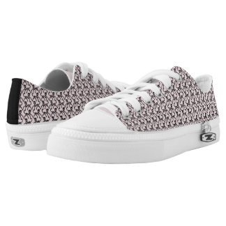 Tritty Painted Foxtrotter Kitten Pink Low Tops