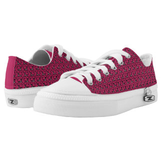 Tritty Painted Foxtrotter Pink Low Tops