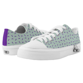 Tritty Trotter Mint and Purple Low Tops