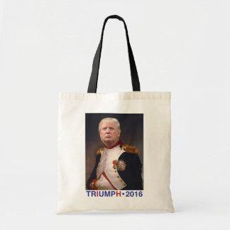 TRIUMPH 2016. Donald Trump presidential campaign. Budget Tote Bag
