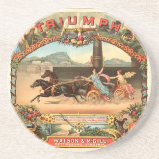 Triumph Harness Racing - Cigarette Advertising Tra Coaster